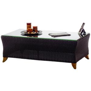 All Things Cedar Rattan Coffee Table - Brown