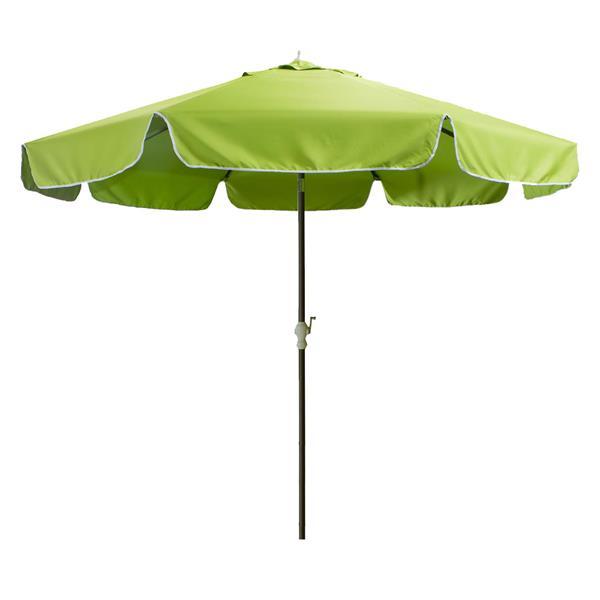 Parasol pour le patio All Things Cedar, Vert, 10'