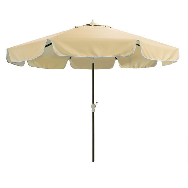 Parasol pour votre ensemble patio, Tan, 10'