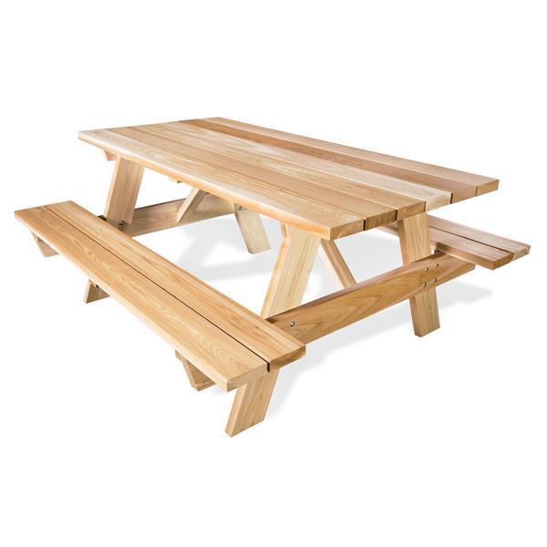 All Things Cedar Picnic Table - 6 ft.