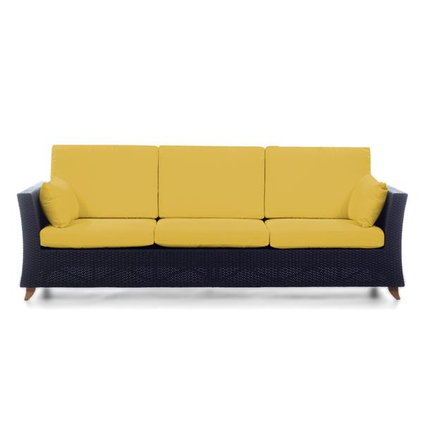 All Things Cedar Outdoor Sofa - Yellow - 92""