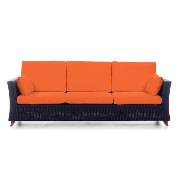 "Sofa d'extérieure All Things Cedar, orange, 92"""