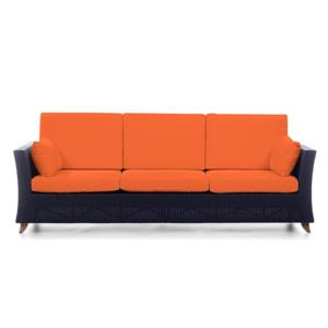Sofa d'extérieure All Things Cedar, orange, 92""