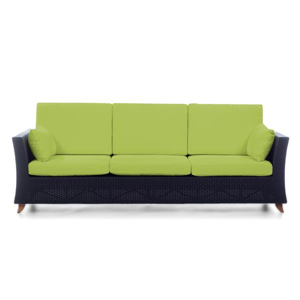 "All Things Cedar Outdoor Sofa - Green - 92"""