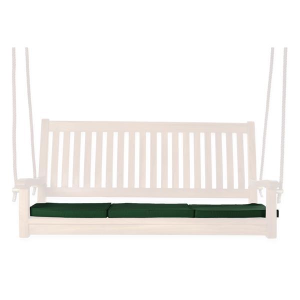 All Things Cedar Outdoor Teak Swing Cushions - Green