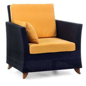 Fauteuil All Things Cedar pour le patio, Jaune