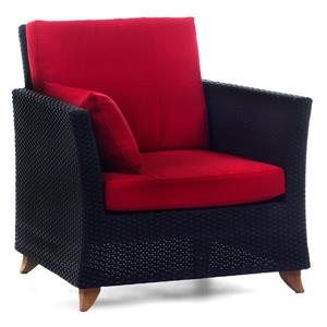 Fauteuil All Things Cedar pour le patio, Rouge