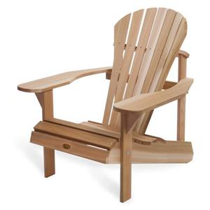 All Things Cedar Muskoka Adirondack Chair - Natural