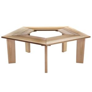 5-Sided Tree Bench