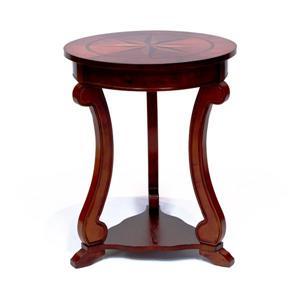 Table ronde All Things Cedar de style Pub, Cerise, 18