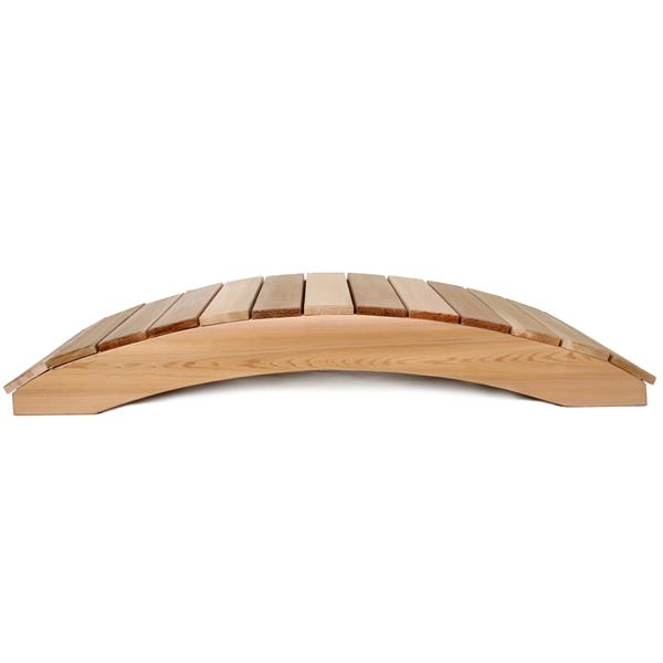 Pont de jardin All Things Cedar, 4 pieds