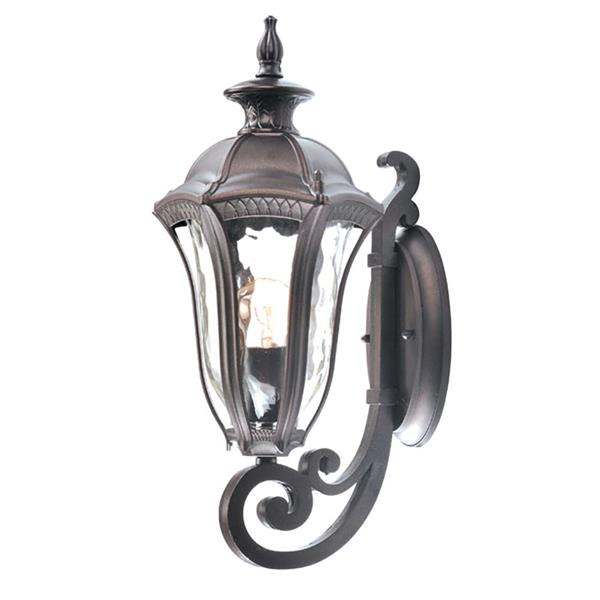 BELDI Sutton Outdoor Wall Lantern 1-Light - Bronze