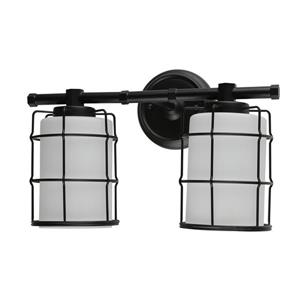 BELDI Albany Wall Light - 2 Lights - Black