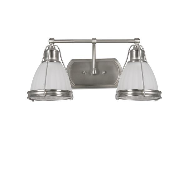 "BELDI Landry Chandelier - 2 Lights - 10.6"" - White"