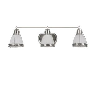 "BELDI Landry Chandelier - 3 Lights - 10.6"" - White"