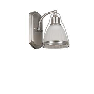"Luminaire Landry, 1 lumières, 10,6"", blanc"