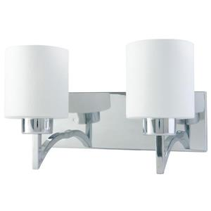 "BELDI Markam Chandelier - 2 Lights - 8.7"" - White"