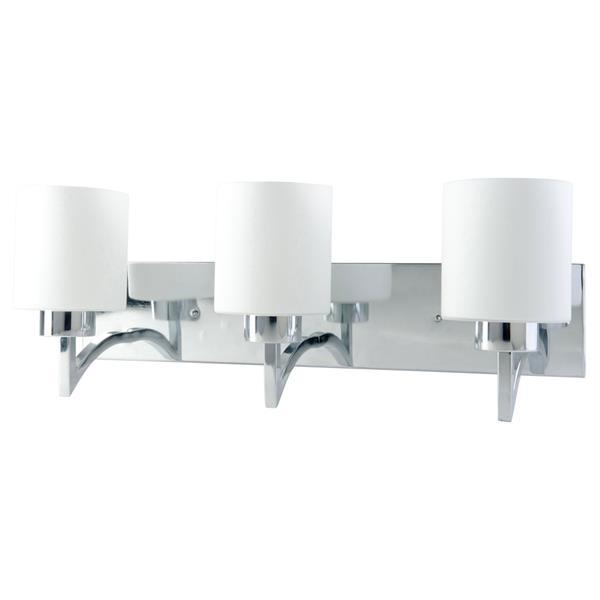 """BELDI Markam Chandelier - 3 Lights - 8.7"""" - White"""
