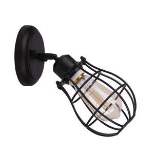 """Luminaire Lancy, 1 lumières, 8"""", noir"""