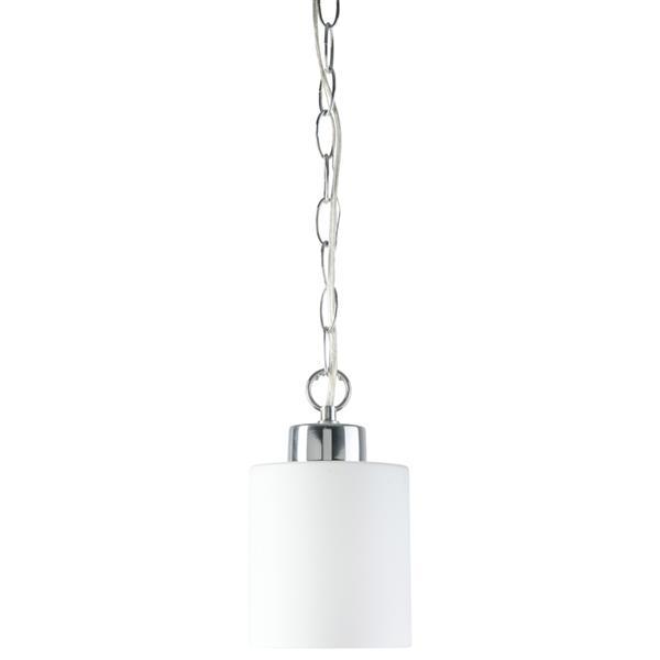 Luminaire suspendu Markham, 1 lumière, blanc