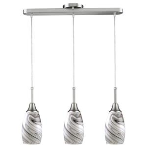 Peak Pendant - 1 Light - Glass - White