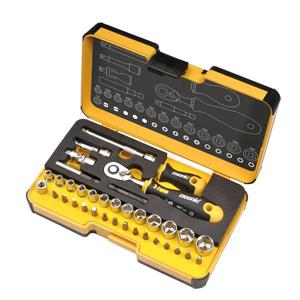 Felo 1/4-in R-GO Standard Ratchet Set - 36-Piece