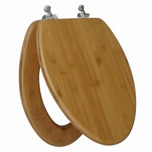 Topseat Toilet Seat - Elongated - Nature Bamboo