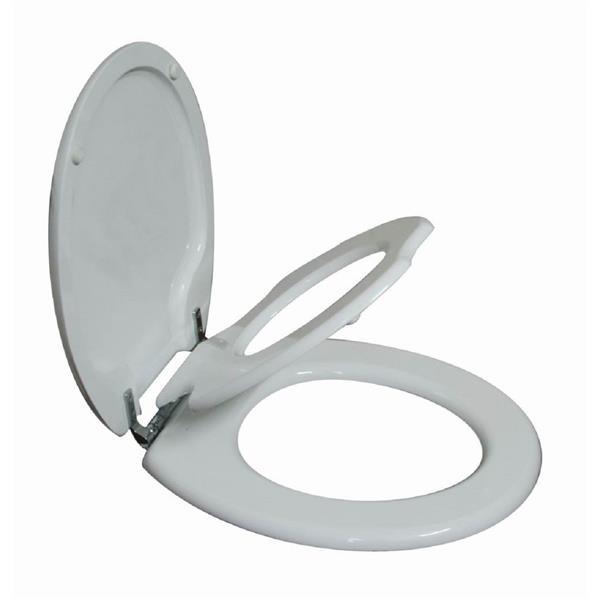 Siège de toilette pour enfants et adultes, rond