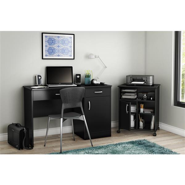 South shore furniture ensemble bureau de travail et rangement