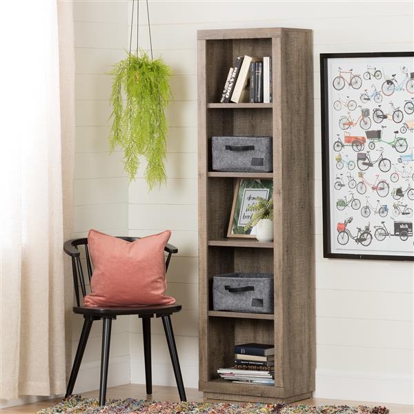 South Shore Furniture Storit Small Woven Felt Baskets - Gray - 2-pk
