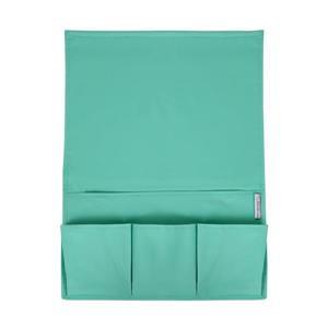 Storit Canvas Bedside Storage Caddy - Blue