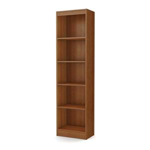 Axess 5-Shelf Narrow Bookcase - Morgan Cherry