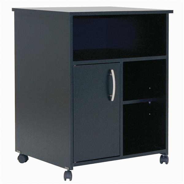 South Shore Furniture Axess Microwave Cart With Storage On