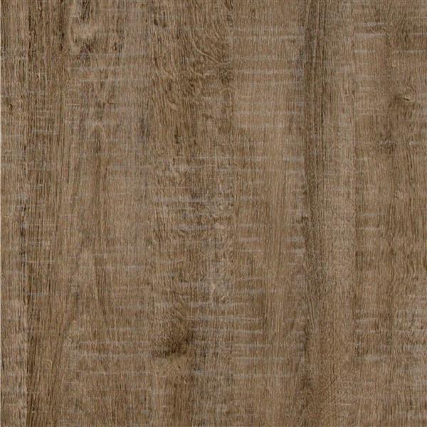 Table de chevet 2 tiroirs Versa, chêne vieilli