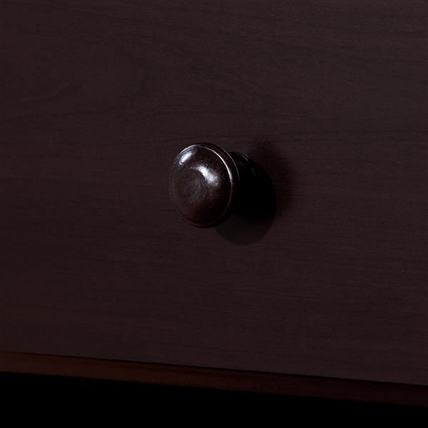 Table de chevet 1 tiroir Summer Breeze, chocolat