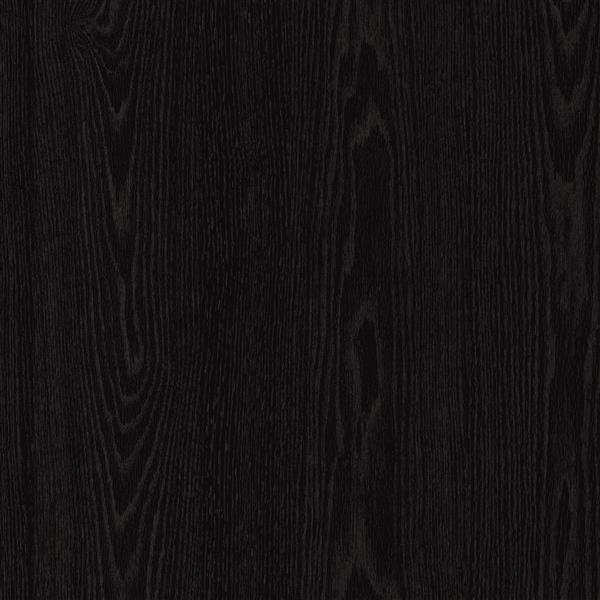 Meuble bar avec rangement Vietti, chêne noir