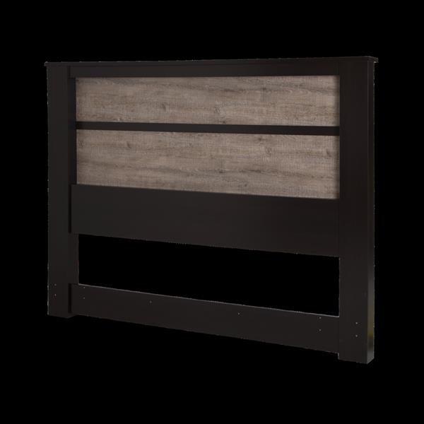 South Shore Furniture Gloria Headboard with Lights - King - Chocolate