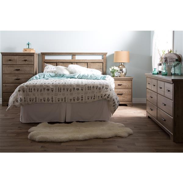 Tête de lit Versa, double/grand, chêne vieilli