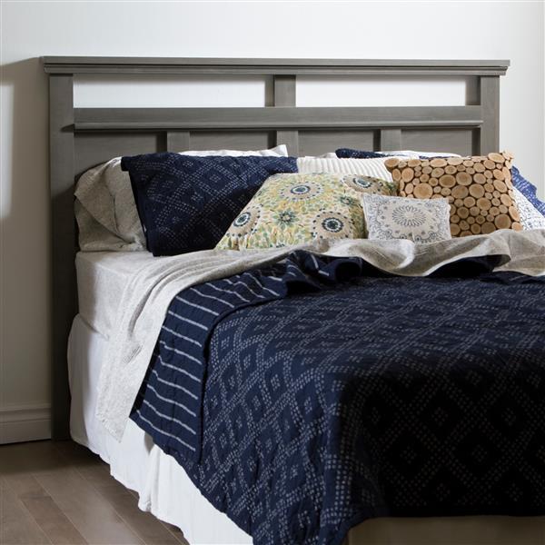 Tête de lit Versa, double/grand, érable cendré