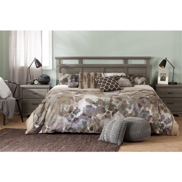 Tête de lit Versa, très grand, érable cendré