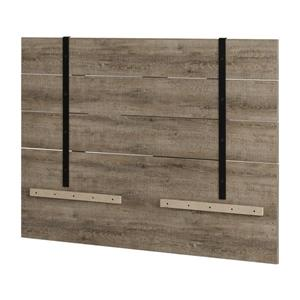 Valet Headboard - Full/Queen - Weathered Oak