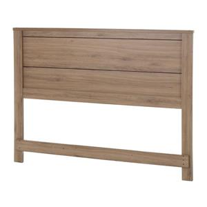 South Shore Furniture Fynn Headboard - Full - Rustic Oak