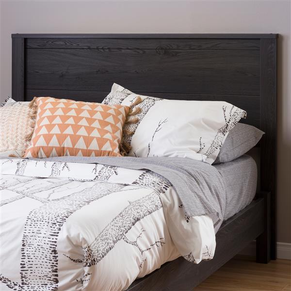 Tête de lit Fynn, double, chêne gris