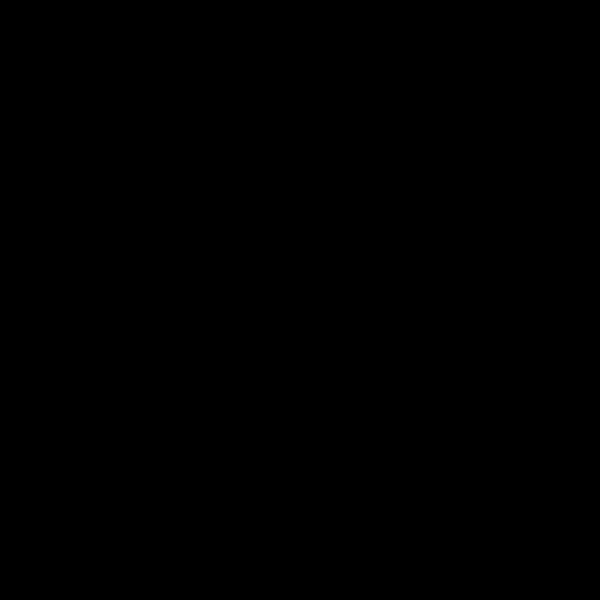 Bureau double 6 tiroirs Spark, noir