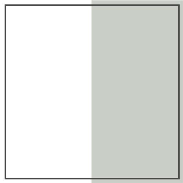 Bureau double 6 tiroirs Cookie, gris clair et blanc