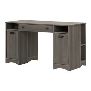 Artwork Craft Table with Storage - Gray Maple