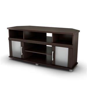 South Shore Furniture City Life TV Stand - 47.25-in x 19.25-in x 22.5-in - Brown