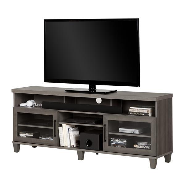 "Adrian TV Stand - 70.25"" x 16"" x 28"" - Gray"