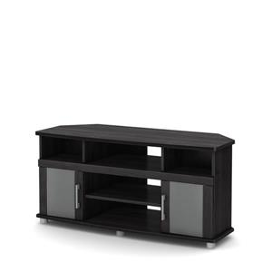 South Shore Furniture City Life TV Stand - 47.25-in x 19.25-in x 22.5-in - Gray