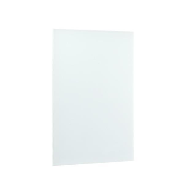 Panneau chauffant radiant sur prise Ember, blanc, 600W
